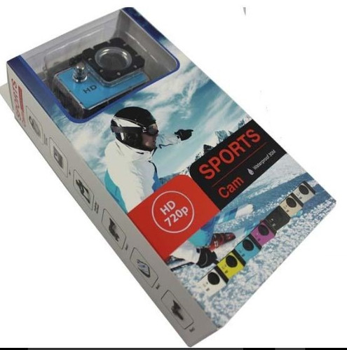 camara de accion deportiva pantalla sumergible tipo sj4000