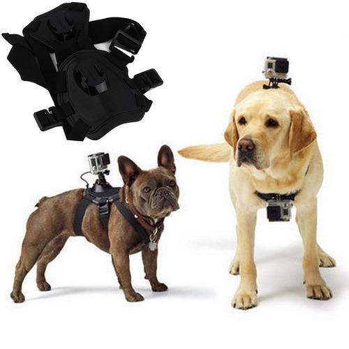 cámara de acción perro fetch arnés de pecho y correa gopro