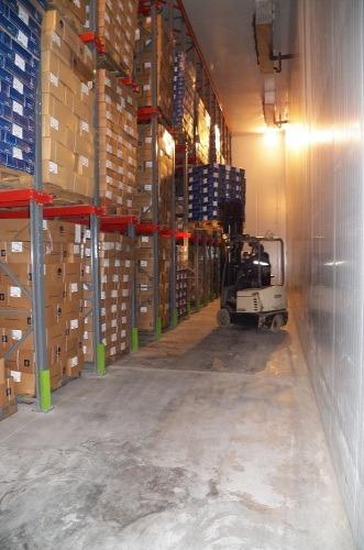 cámara de almacenamiento para productos congelados de -18°c