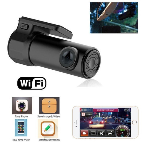 camara de carro grabadora wifi vision nocturna 1080p sonido