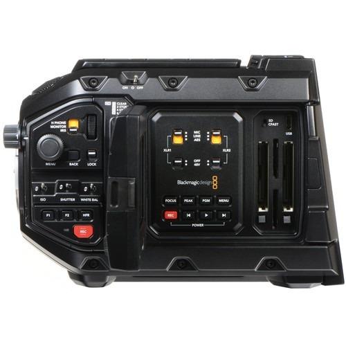 cámara de cine digital blackmagic design ursa mini pro 4.6k