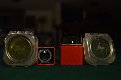 camara de colección leica - reliquia y antigüedad accesorios