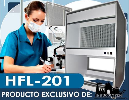 camara de flujo laminar horizontal hfl201+filtro hepa h15+uv
