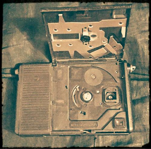 cámara de fotografía kodak disc 8000 usada, sin disco.