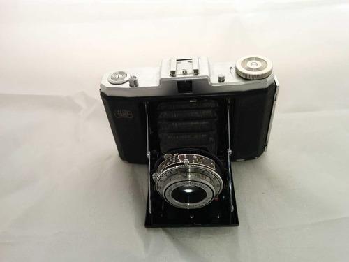 cámara de fotografía original nettar alemana antigua 1949