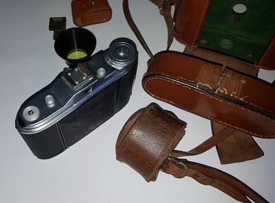 camara de fotos agfa isolette i  - agnar 1:4.5/85 +flash