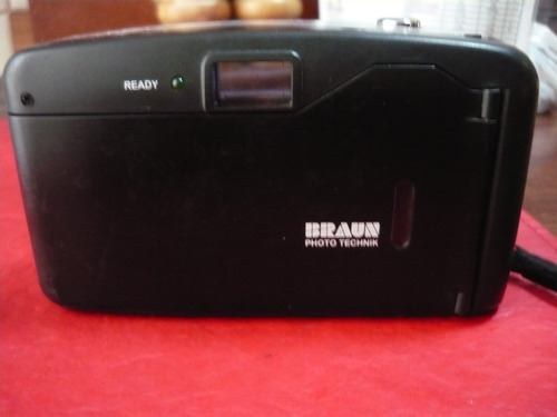 camara de fotos braun 35 mm - action bf-1 autofocus