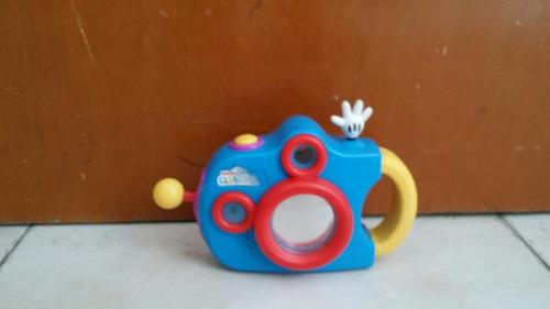 camara de fotos de micky mouse de club disney