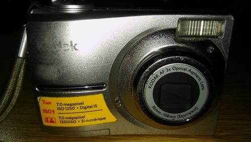 cámara de fotos digital kodak
