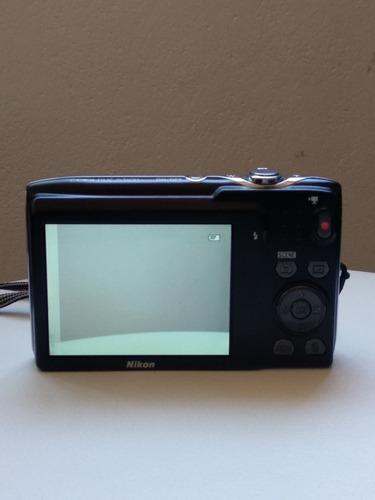 cámara de fotos digital nikon coolpix s3100