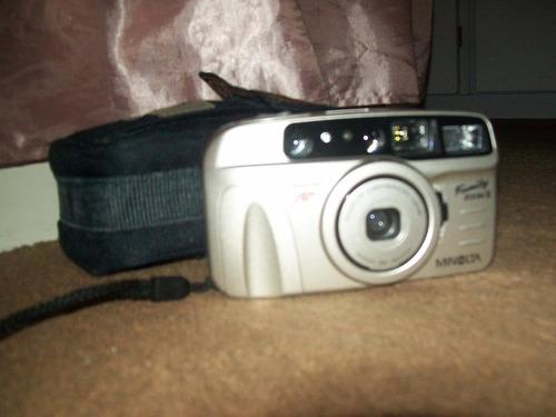 camara de fotos minolta