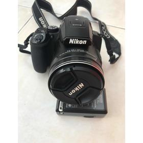 Cámara De Fotos Nikon Coolpix P900 Muy Poco Uso 90x De Zoom