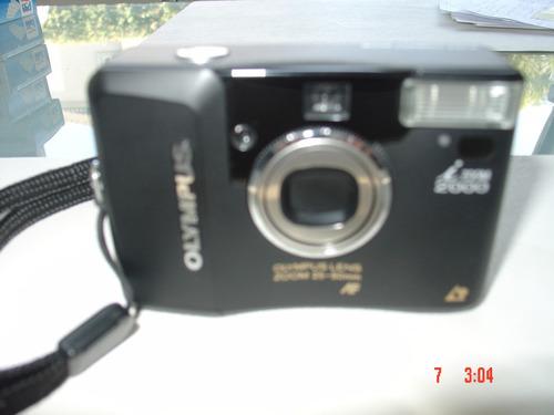 camara de fotos olympus i zoom 2000 a rollo-unica!!!!