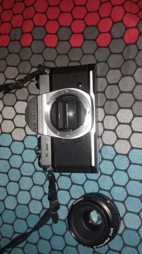 cámara de fotos semi profesional k1000