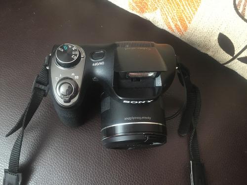 cámara de fotos sony cybert shot 20.1 mp negra