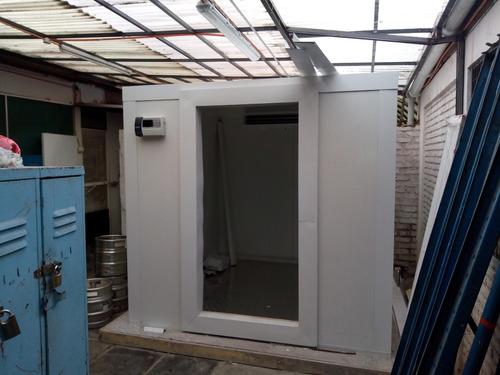 cámara de frio o frigorífica frescos y congelados en cuotas