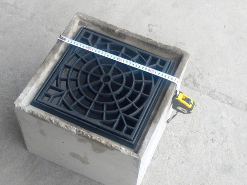 cámara de hormigon premoldeado pluvial 30x30x30 sin rejila