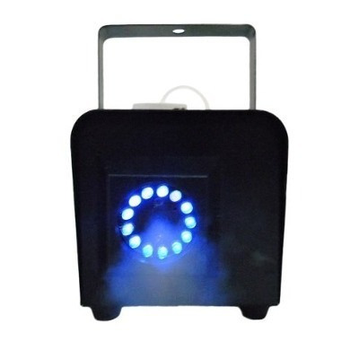 cámara de humo 1,000w con luces led mitzu mce-9014