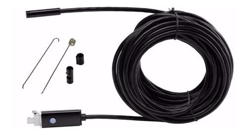 camara de inspeccion endoscopio android hd 10 metros 7 mm