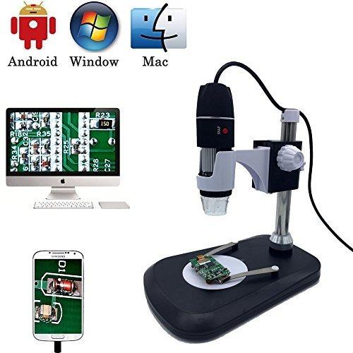 cámara de microscopio digital usb, jiusion 40 -1000x endosco