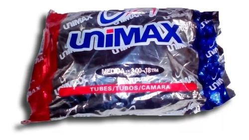 camara de moto 3.00-18 unimax