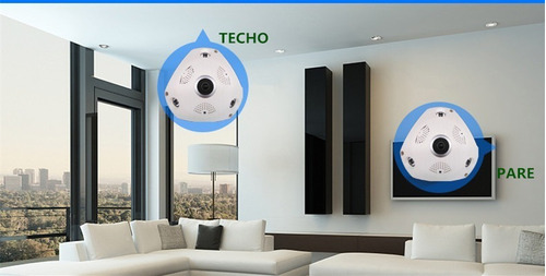 cámara de ojo de pez panorámica de 360 ¿¿grados vr cámara