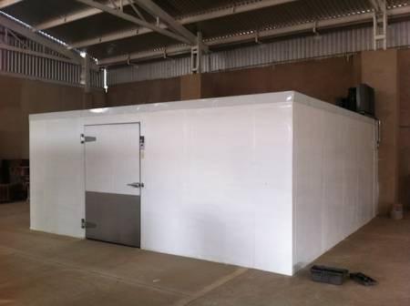 camara de refrigeracion 5.00m x 14.00m.x 4.25m.
