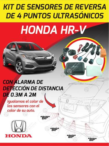 cámara de reversa  para honda hrv 2016 + sensores de reversa