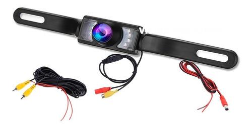 camara de reversa para portaplaca con visión nocturna