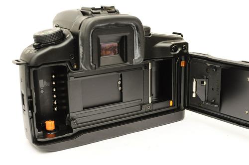 camara de rollo canon electronica elan 7e analogica, usado