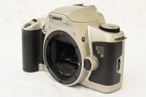 camara de rollo canon electronica eos 500n usado(mas regalo)