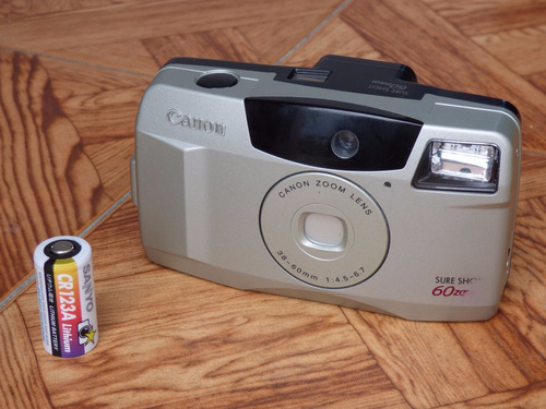 camara de rollo canon sure shot 60 zoom