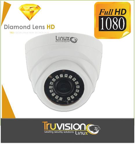 cámara de seguridad cctv domo 1080 1.8 megapixeles truvision