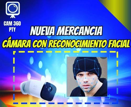 cámara de seguridad con reconocimiento facial