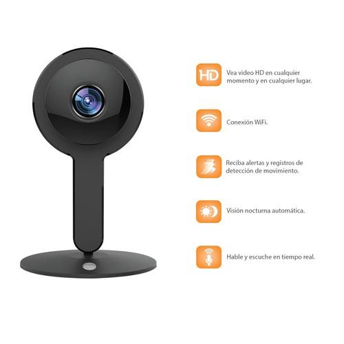 cámara de seguridad cx3 plus 1080p wifi color negro