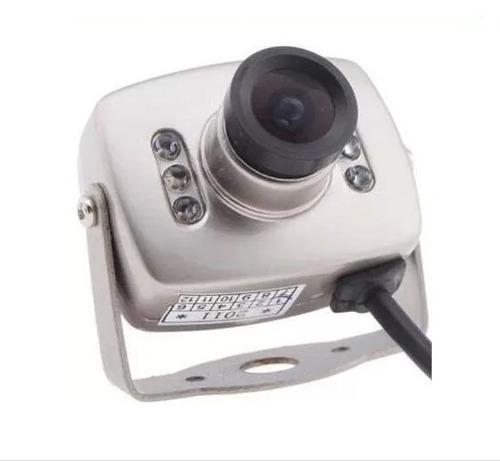 cámara de seguridad espía cmos 6 led 3.6mm audio