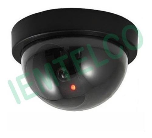 cámara de seguridad falsa disuasiva cctv anti-robo domo
