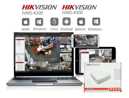 cámara de seguridad hikvision hilook 720 hd  domo 4 en 1