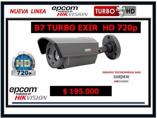 camara de seguridad hikvision turbo exir 720p