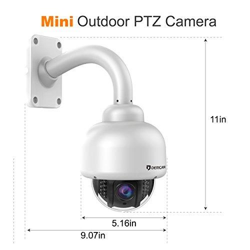 cámara de seguridad inalámbrica para exteriores dericam, cám