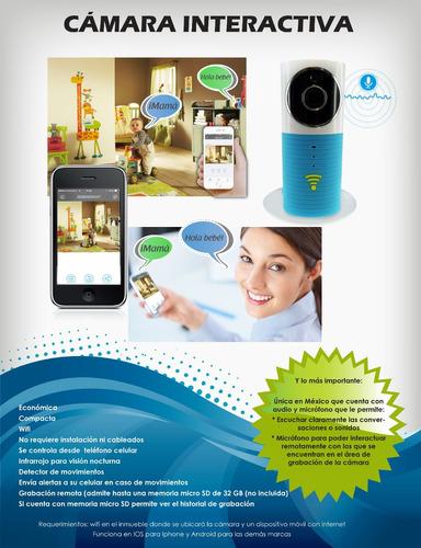 cámara de seguridad inalambrica wifi desde el celular