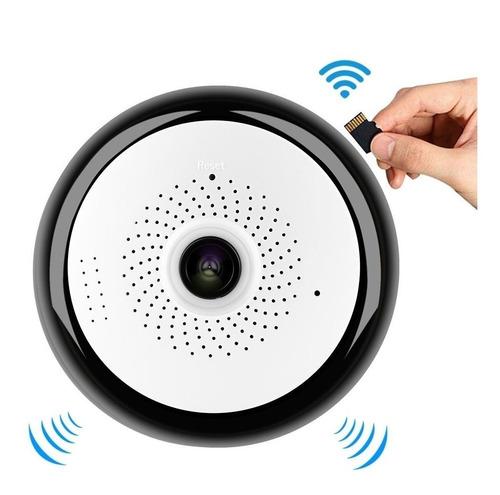 camara de seguridad ip 360° grados  hd micro sd wifi 3d