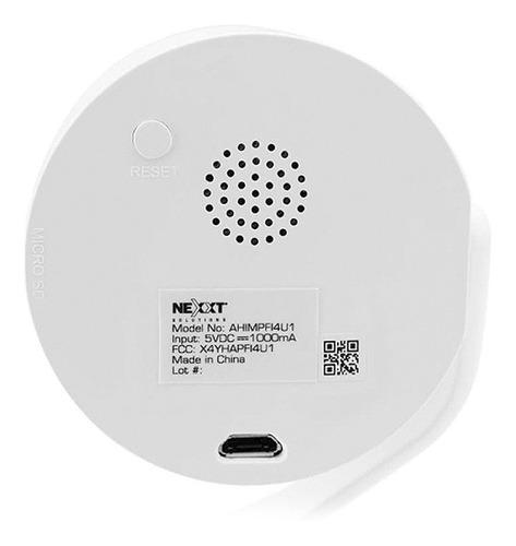 camara de seguridad ip wifi nexxt 1080p nocturna movimiento