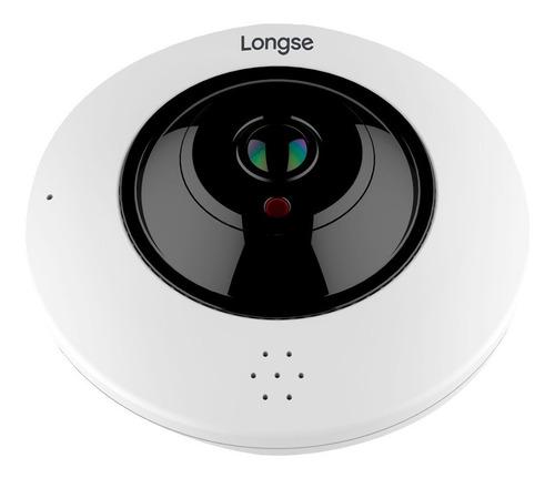 cámara de seguridad longse ojo de pez ip 4mp - lmdes600