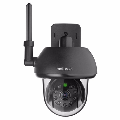 cámara de seguridad motorola exterior wifi infra focus 73