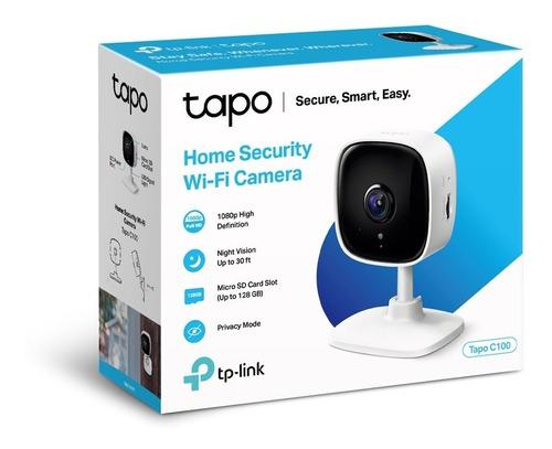 cámara de seguridad para el hogar wi-fi tp link tapo c100