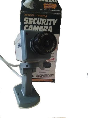 cámara de seguridad señuelo