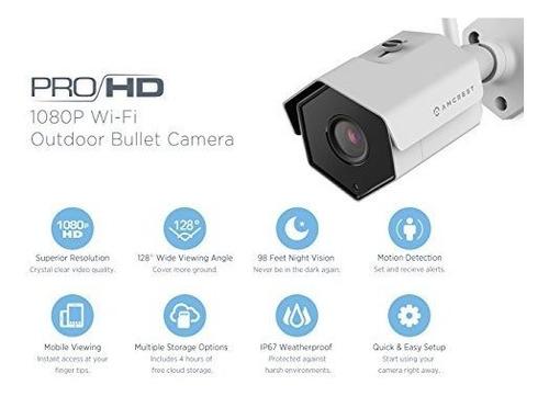 camara de seguridad wifi amcrest 1080p al aire libre camara