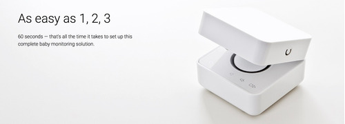 cámara de seguridad - withings smart baby monitor (sólo ios)