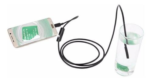 cámara de video 3.5m 6led android endoscopio inspeccion impe